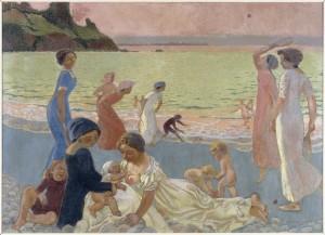 """Pour exposition """"Belles de jour"""" au Palais Lumière d'Evian."""