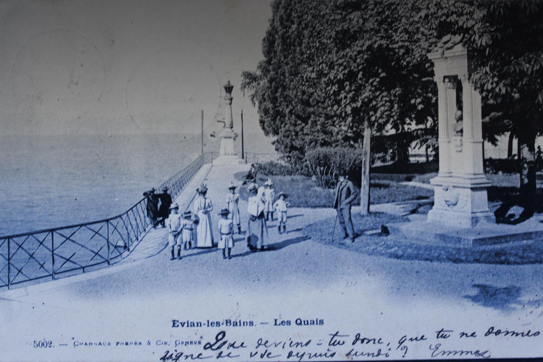 Goûter au paradis, Anna de Noailles sur les rives du Léman