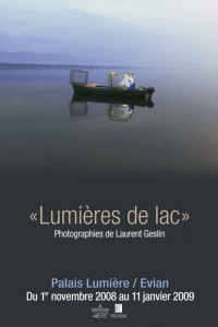 Lumières de lac, photographies de Laurent Geslin